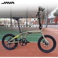 JAVA Zelo Foldable Bike Folding Bicycle Foldie Shimano