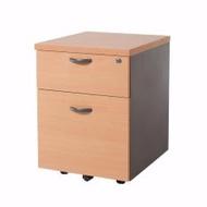 1-Drawer 1-Filing Mobile Pedestal