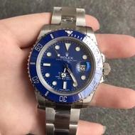 開Rolex手錶潛航者系列 勞力士藍水鬼手錶 勞力士機械表 勞力士綠水鬼 藍水鬼 細節做到完美