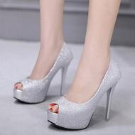 ShoeSweetShoe  SSS133-5C รองเท้าส้นสูง คัชชู งานพรีเมี่ยม รองเท้าออกงาน รองเท้าทำงาน รองเท้าแฟชั่น รองเท้าผู้หญิง