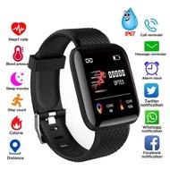 🏃116 Plus 🏃  116Plus Smart Watch Blood Pressure Heart Rate Monitor Waterproof Fitness Tracker Watch Smart Band