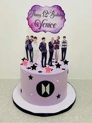 BTS Cake Topper