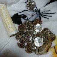 民國88年50週年紀念幣10元錢幣