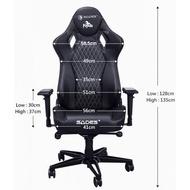 SADES PEGASUS 天馬座 真 人體工學電競椅 黑/白