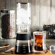 Cold Brew Coffee Maker Slow Water Drip Cold Coffee Maker,Adjustable Ice Drip Dripper 400ml Glass Carafe