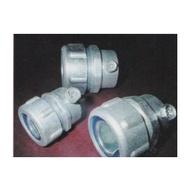 【峰里電料】防水管接頭~ VO-12-EMT  (1吋2) 單顆(浪管接EMT管使用)