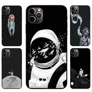 IPhone12 Pro Max 12mini  12 / 12 Pro Astronaut NASA Casing Soft Case Cover