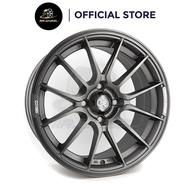 New Sport Rim ENKEI SC48 15x7 4x100 ET38 Matt GunMetal 15 inch 15 inci Mr Wheel