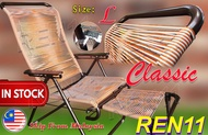 3V Lazy Chair PVC Round String -  Classic Guarantee original, Express Delivery