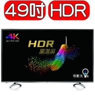 倒數兩台 BenQ 49型 4K HDR 護眼 液晶 電視 顯示器 49mr700 mr700