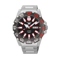 นาฬิกาผู้หญิง ผู้ชาย ของแท้100% มีใบประกัน (รับประกัน1ปี) นาฬิกาข้อมือผญ ผช ทนทาน กันน้ำได้ (จัดส่งฟรี) นาฬิกาแบรนด์ รุ่นใหม่ล่าสุด SEIKO Automatic Mini Monster นาฬิกาข้อมือผู้ชาย  สายสแตนเลส รุ่น SRP487K1 ราคาพิเศษ ยี่ห้อที่ดีที่สุด มีเก็บเงินปลายทาง