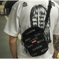 全新★ Supreme 41th Shoulder Bag 3M反光 肩背包 小包 側背包 斜背包 腰包 男女 黑白紅