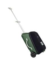 กระเป๋าเดินทางพร้อมรถเข็น Luggage Eazy Cactus สีเขียวเข้ม ของใช้สำหรับเด็กเล็ก
