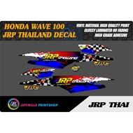 Honda Wave 100 Jrp Thailand Sticker Decal