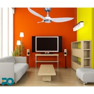 """PO ECO GALE20 43"""" DC Ceiling Fans With LED light and Remote Control"""