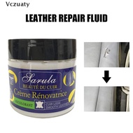 Vczuaty Leather Vinyl Repair Paste Filler Cream Putty for Car Seat Sofa Holes Scratches Leather Repair Tool SG
