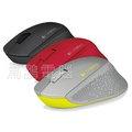 【鳥鵬電腦】刷卡含稅免運 Logitech 羅技 M280 無線滑鼠 3色可選 柔軟橡膠製作的曲線握把 超小型接收器