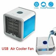 USB Mini Portable Aircon Air Conditioner Standing Fan Desk Light Purifier Humidifier