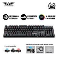 Armaggeddon SMK-12R RGB Kestrel Outemu Switch Mechanical Keyboard | 104 Key Low-Profile | 16.8 Million Colour RGB Effect