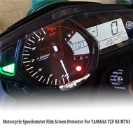 For YAMAHA YZF R3 MT03 Motorcycle Accessories Cluster Scratch Speedometer Film Screen Protector