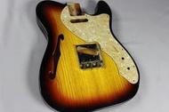 MJT Fender Thinline 吉他琴身(Telecaster Nocaster NOS)