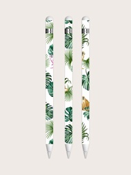 1sheet Plants Print Apple Pencil 1st Sticker