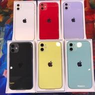 馬上出貨❤️僅拆封開通特價售‼️自取再折價iPhone 11 64GB/128GB 紫色 綠色 紅色 黑色 白色 黃色