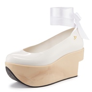"Vivienne Westwood x melissa - ""Rocking Horse Shoes""芭蕾舞鞋-白"
