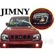 》傑暘國際車身部品《全新實車 SUZUKI JIMNY 黑框 R8 燈眉 魚眼 大燈 頭燈 JIMNY車燈