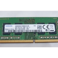 【Samsung 三星】~DDR4 2400 4G 筆電記憶體