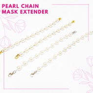 [Shop Malaysia] ❤️ MASK EXTENDER❤️ PEARL CHAIN MASK EXTENDER 2in1 MASK EXTENSION DIAMOND BATU
