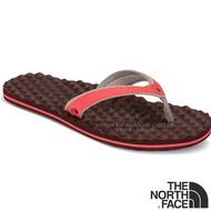 【美國 The North Face】女新款 BASE CAMP PLUS MINI 輕量人字夾腳拖鞋.海灘鞋.人字拖/ CXQ9 嫩紅 N