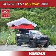 【露營趣】新店桃園 YAKIMA 7406 SKYRISE TENT MEDIUM 車頂帳篷 車頂帳 露營帳篷 轎車 休旅車