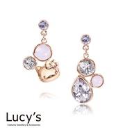 Lucy's X Hello Kitty 獨家聯名 Brilliant Diamond 耳環 (二色)