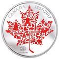 2017 5盎司加拿大標誌精鑄銀幣