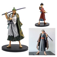 18 CM One Piece Grandline Men Roronoa Zoro Land Of WanoประเทศVer. Action Figure Kimono DXF PVC Collectionของเล่นของขวัญ
