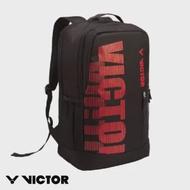 【VICTOR 勝利體育】運動後背包(BR6013 CD 黑/紅)