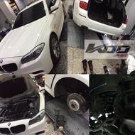 KOO高低軟硬可調避震器【BMW】5 Series F11