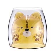 [星巴克]石虎造型雙層玻璃杯