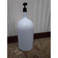 『殺肉貨』NO.235~236 大瓶裝 塑膠瓶 收納瓶 洗髮精/沐浴乳/護髮乳 5公升 附壓頭 1標6入免運