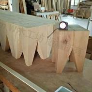 紅檜牙齒椅凳