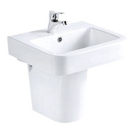 【馬桶先生】 國寶衛浴 E&T 面盆/短柱 L-2185/F-2005