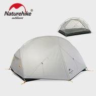 Naturehike Mongar 2 Campingเต็นท์กลางแจ้งUltralight Camping 2คนDouble Layerเดินป่าเต็นท์ฟรีNH17T007