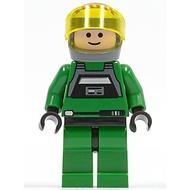 樂高人偶王 LEGO 星戰系列#7754 sw0031b Rebel Pilot A-wing