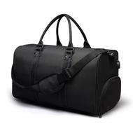 WB1212BK黑色 韓版大容量旅行包手提包/側背包(附USB外置充電接口)