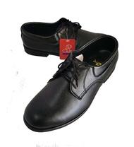 Mewnic 117 รองเท้าคัชชูสีดำ พื้นเย็บ ผูกเชือก