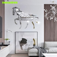 [summer]Animal Horse Stereo Acrylic Mirror Wall Sticker TV Background Wall Decoration