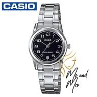 Casio Standard นาฬิกาข้อมือผู้หญิง สายสแตนเลส รุ่น LTP-V001D