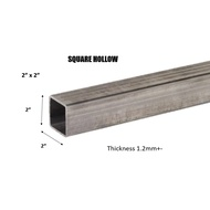 "MILD STEEL/ BESI HOLLOW (BESI) 2"" SQUARE HOLLOW - (TEBAL 1.2MM +-)#BS #DIY"