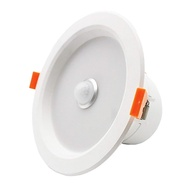ZDM 5W Round Human Body Induction Light Radar Motion Sensor Infrared LED Downlight Warm White / Cold White 220V